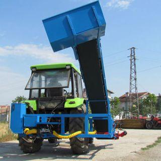 Машина за косене на лавандула за товарене в ремарке МКЛ 2Р
