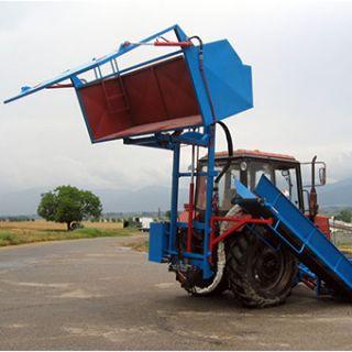 Косилка для лаванды с разгружающимся контейнером  МКЛ 3КТ