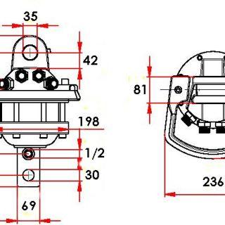 Ротатор без фланец CLB 60
