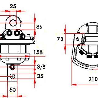 Ротатор без фланец CLB 30